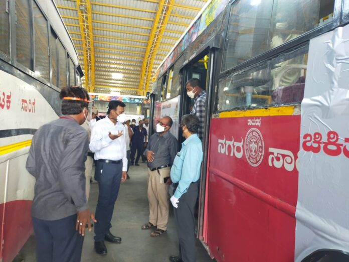 District Inspector of Medical Oxygen buses