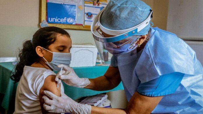 Separate Corona care for children Vaccine for children