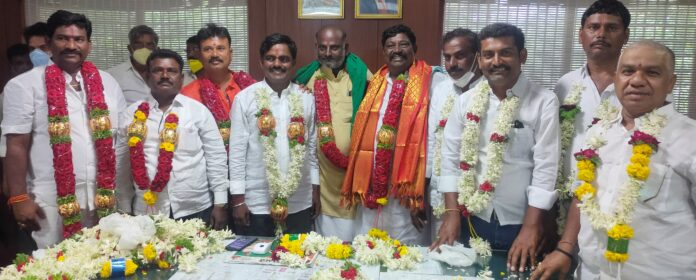 Congratulations to Bellary APMC President and Officers